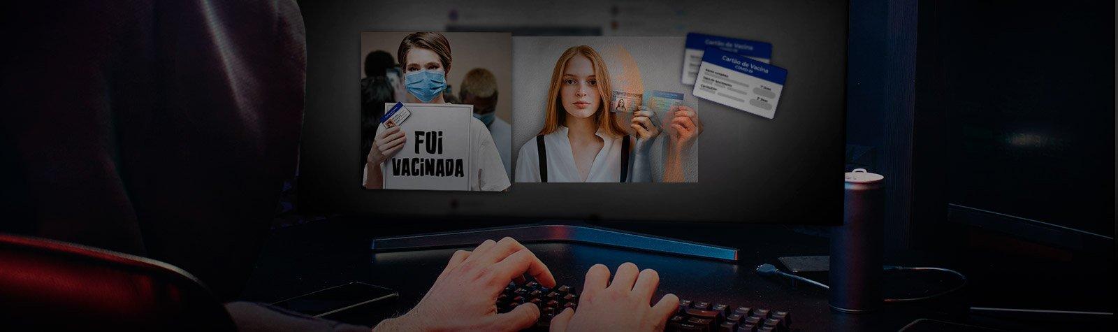 Fotos do cartão de vacina nas redes sociais podem trazer dores de cabeça